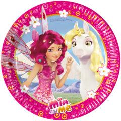Mia & Me - Paper Plates Medium 20cm - 82477