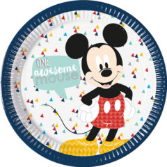 Mickey Awesome - Paper Plates Large 23cm - 89000