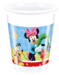 Mickey Christmas Time - Plastic Cups 200ml