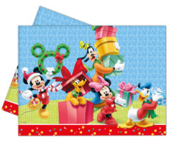 Mickey Christmas Time - Plastic Tablecover 120x180cm