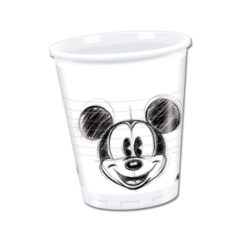 Mickey Faces - Plastic Cups 200ml