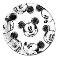 Mickey Faces - Paper Plates Large 23cm