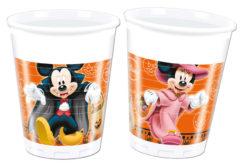 Mickey Halloween - Plastic Cups 200ml
