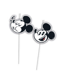 Mickey Super Cool - Medallion Flexi Drinking Straws - 89212