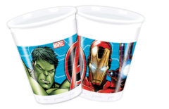 Mighty Avengers - Plastic Cups 200ml