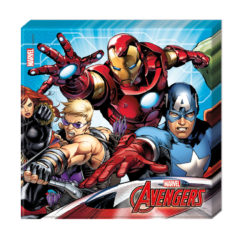 Mighty Avengers - Two-ply Paper Napkins 33x33cm
