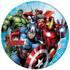 Mighty Avengers - Paper Plates Large 23cm