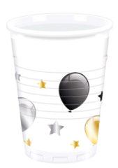 Milestone - Plastic Cups 200ml Balloons