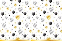 Milestone - Plastic Tablecover 120x180cm Balloons