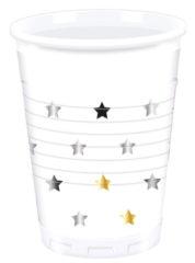 Milestone - Plastic Cups 200ml Stars
