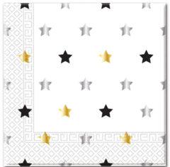 Milestone - Three-ply Paper Napkins 33x33cm Stars