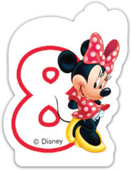 Minnie Happy Helpers - Candle No 8 - 82927