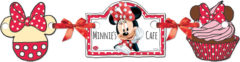 Minnie Happy Helpers - Die-cut Silhouette Banner - 82687