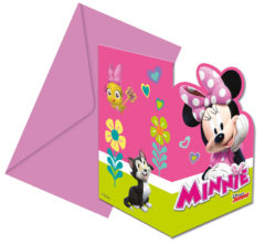 Minnie Happy Helpers - Die-cut Invitations & Envelopes