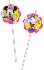 Minnie Happy Helpers - Medallion Flexi Drinking Straws