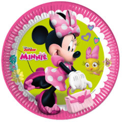 Minnie Happy Helpers - Paper Plates Large 23cm