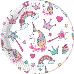 Magic Party - Paper Plates Large 23cm - 89287