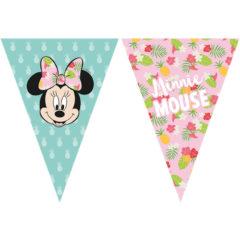 Minnie Tropical - Triangle Flag Banner (9 Flags) - 89234
