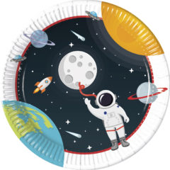 Outer Space - Paper Plates Large 23 cm - 90295