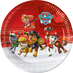 Paw Patrol Ready for Action! - Paper Plates Large 23cm - 89774