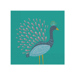 Peacock - Two - Ply Paper Napkins 33 x 33 cm - 90587