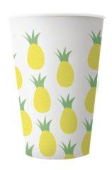 Pineapple Fresh - Reusable Plastic Cups 400ml - 90964