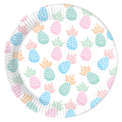 Pineapples - Paper Plates Large 23cm