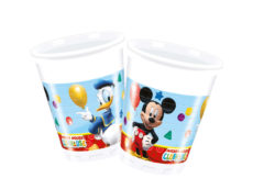 Playful Mickey - Plastic Cups 200 ml - 81509