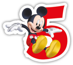 Playful Mickey - Candle No 5 - 83153