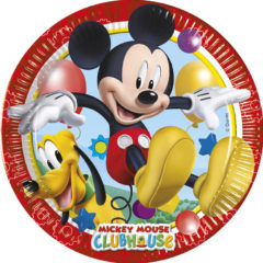 Playful Mickey - Paper Plates Large 23cm - 81508