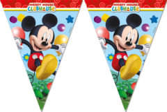 Playful Mickey - Triangle Flag Banner (9 Flags)