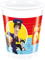 Postman Pat - Plastic Cups 200ml