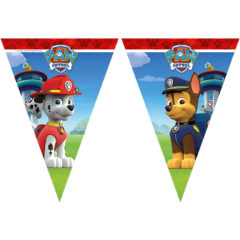 Paw Patrol - Ready for Action! - Triangle Flag Banner (9 Flags) - 89443
