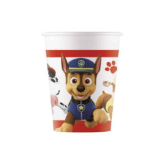 Paw Patrol Ready for Action - Paw Patrol Paper Cups 200 ml - 90654