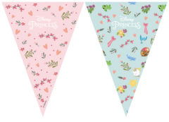 Princess Dare To Dream - Triangle Flag Banner (9 Flags)