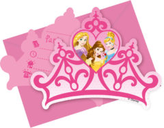 Princess Dreaming - Die-cut Invitations & Envelopes