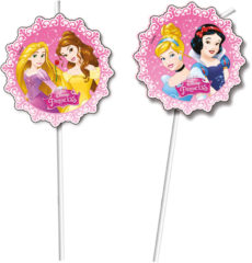 Princess Dreaming - Medallion Flexi Drinking Straws