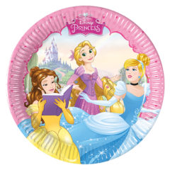 Princess Dreaming - Paper Plates Medium 20cm - 87070