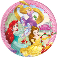 Princess Dreaming - Paper Plates Large 23cm - 86677