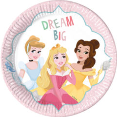 Princess Dare To Dream - Paper Plates Large 23cm - 89217