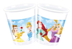 Princess Heart Strong - Plastic Cups 200ml