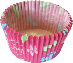 Princess Heart Strong - Paper Cupcake Cases