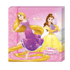 Princess Heart Strong - Two-ply Paper Napkins 33x33cm - 87879