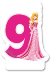 Princess Heart Strong - Candle No 9