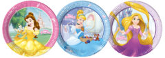 Princess Heart Strong - Paper Plates Large 23cm (3 Mixed Design)