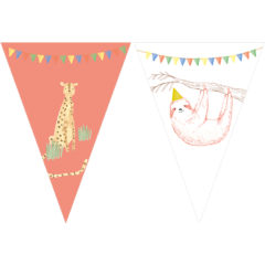 Safari - Triangle Flag Banner (9 Flags) - 89691