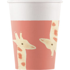 Safari - Paper Cups 200ml - 89734