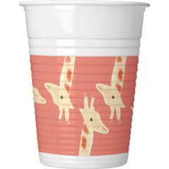 Safari - Plastic Cups 200ml - 89622