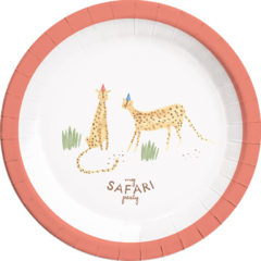 Safari - Paper Plates Large 23cm - 89621