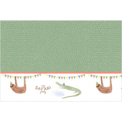 Safari - Plastic Tablecover 120x180cm - 89624